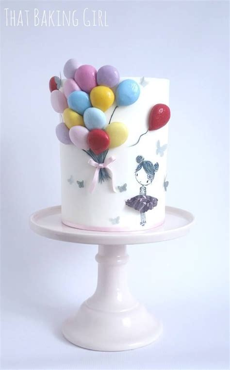 17 best ideas about balloon cake on pinterest birthday cake toppers balloon party and baby