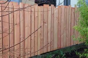 palissade en bois douglas planches verticales ext 233 rieur