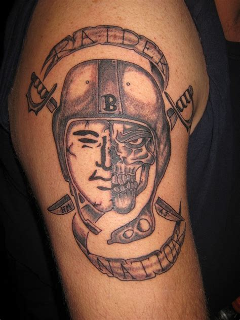 raider tattoo raiders tattoos designs ideas and meaning tattoos for you