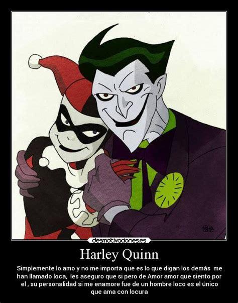 imagenes joker y harley quinn con frases harley quinn desmotivaciones