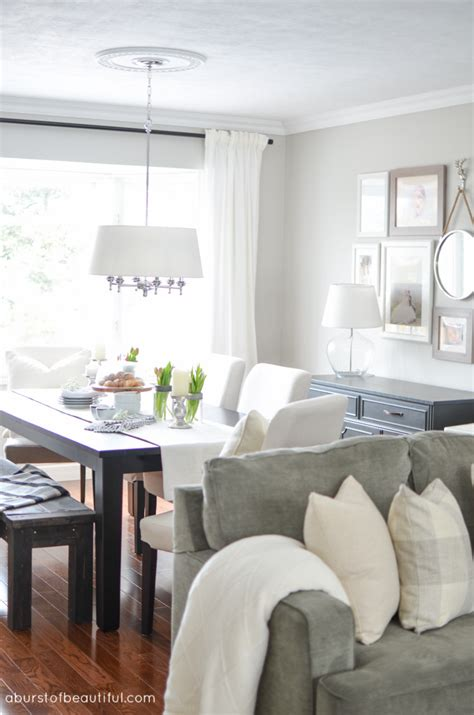 average cost to paint a living room living room dining room makeover a burst of beautiful