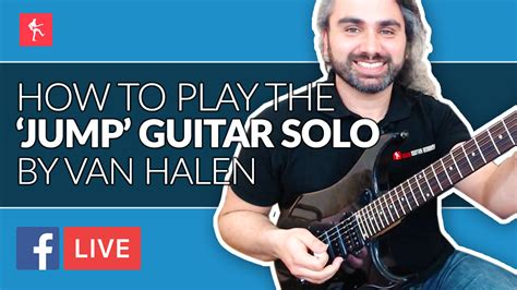 eddie van halen jump solo how to play the jump solo by eddie van halen live stream