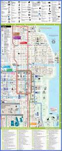 Chicago Hotels Map by Chicago Map Tourist Attractions Map Travel Holiday
