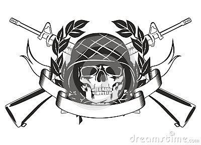 Cranio Helm Aufkleber by Cr 226 Nio No Capacete Militar