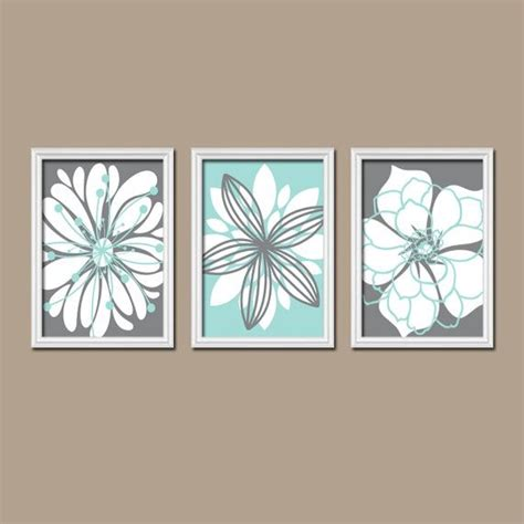 bathroom canvas wall art bathroom artwork canvas or prints charcoal gray aqua blue