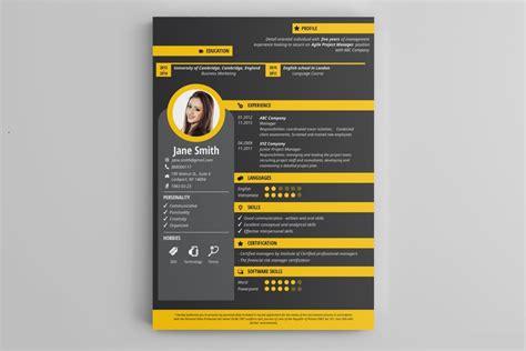template cv kreatif online ide gila bikin cv dan resume yang out of the box dan