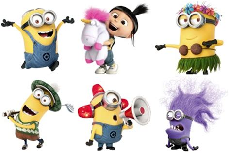 Minions World Graphic 2 despicable me free clipart