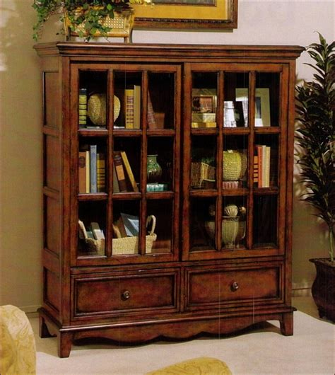 sauder bookcase with glass doors bookshelf extraordinary low bookcase with doors enclosed