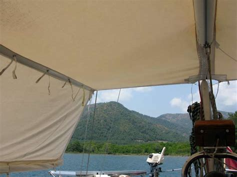 sailboat awning boat sun awning design followtheboat