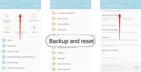 how to reset galaxy s5 without losing data or hard reset recover lost data after factory reset android 7 1 7 0 6 0