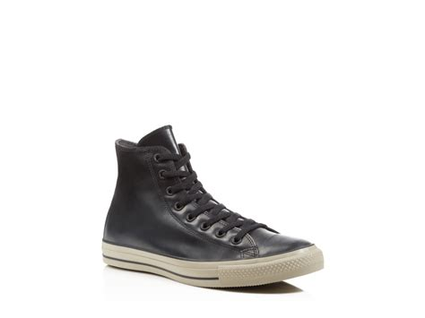 Converse High Klasik Black lyst converse all rubber high top sneakers in black for