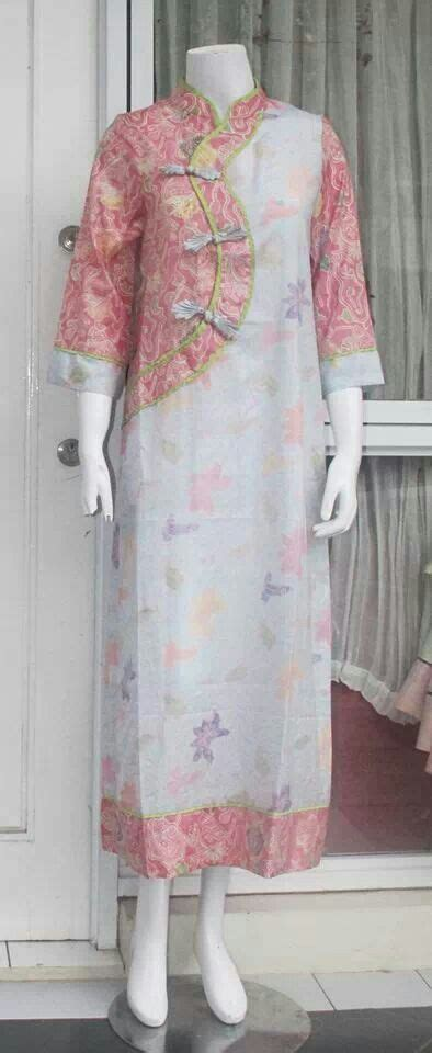 Busana Blouse Mix Tenun 1000 ideas about cheongsam modern on batik