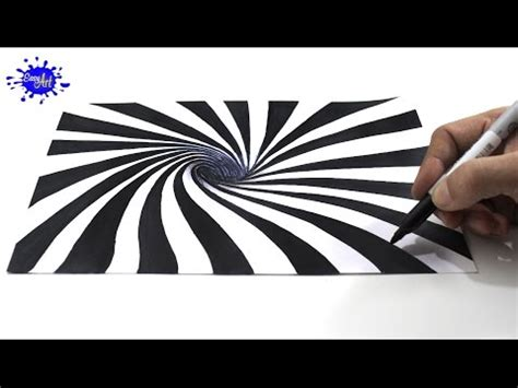 ilusiones opticas con dibujos c 243 mo dibujar una ilusi 243 n 243 ptica 3d how to draw optical