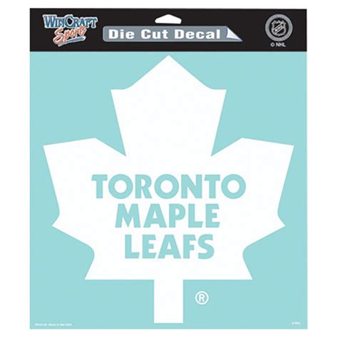 buy nhl toronto maple leafs wincraft nhl toronto maple leafs die cut decal