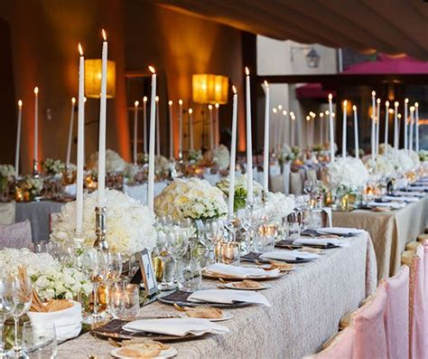 wedding tablescapes with candles 2 lofty taper candles are completely for a femme indoor brunch arreglo salon