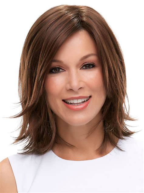 rosie perezs hair is it real or wig medium mid length shoulder length wigs wigs com