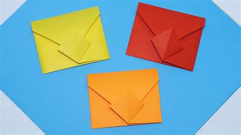 how to make an origami envelope diy easy origami envelope tutorial how to make envelope