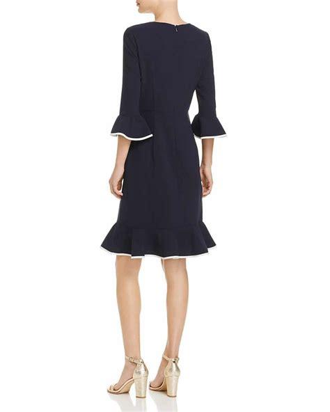 Grosir Marsmaello Zipper Navy nanette nanette lepore three quarter sleeve flounce navy marshmallow dress we select