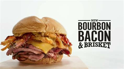 who does voice over in arbys new bacon commercial arby s bourbon bacon brisket tv commercial sandwich