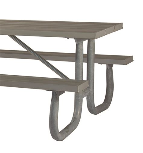 picnic table frames picnic table frame 8 ft welded galvanized steel