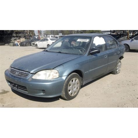 2000 honda civic ex parts used 2000 honda civic ex parts car blue with gray