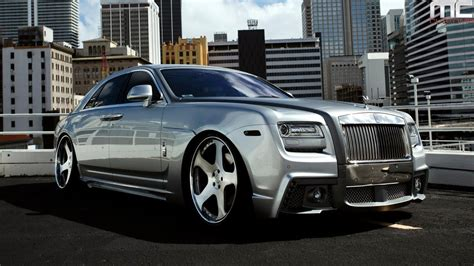 customized rolls royce mc customs wald rolls royce ghost youtube