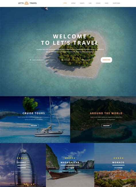 hotel website templates  hotel  travel booking sites