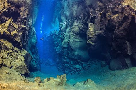 clearest ocean water in the world silfra diving world s clearest water in iceland youtube