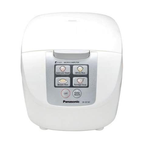 Daftar Rice Cooker Panasonic jual panasonic sr df181 rice cooker digital 1 8l harga kualitas terjamin blibli
