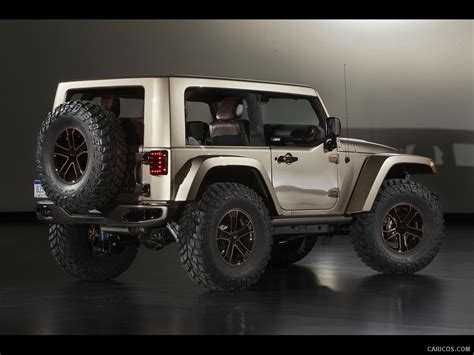 jeep wrangler flattop concept rear wallpaper