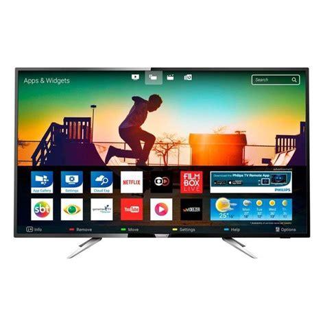 Tv Led Hartono Electronic smart tv 4k ultra hd philips s 233 rie 6000 led 50 polegadas