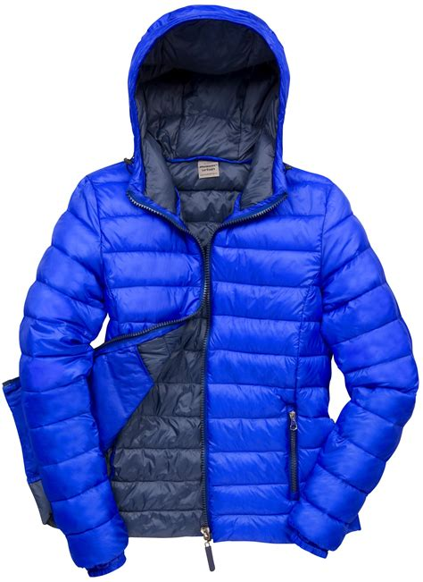 light puffer jacket with hood new womens result urban outdoor adjustable hood quilted