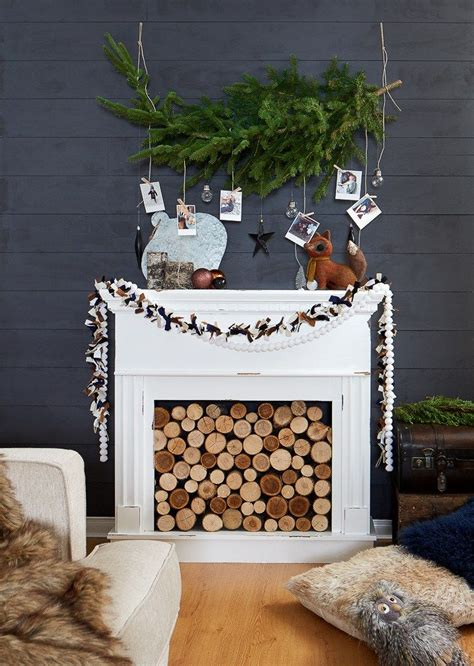 where the holidays really happen urban country living room trees diy photo and country living