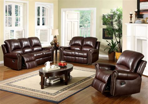 Elegant Living Room Decorating Ideas With Brown Leather Living Room Ideas Leather Furniture
