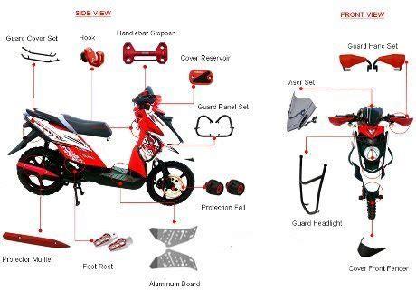Harga Lu Led Motor X Ride informasi harga aksesoris x ride novariany s world