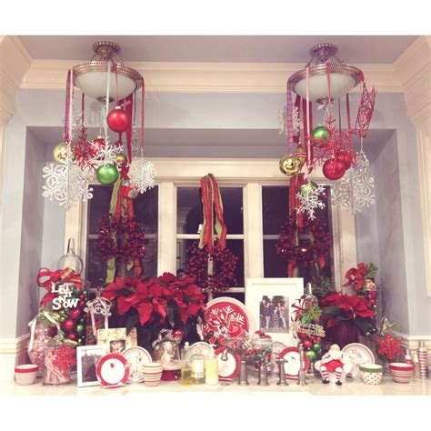 bay window christmas decorating ideas home intuitive