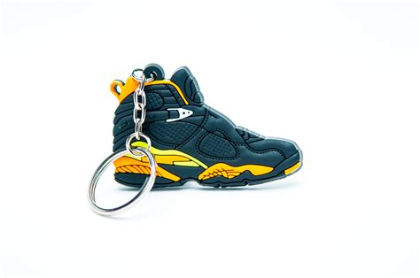 retro l yellow nike air jordan 8 retro black yellow kool keyringskool