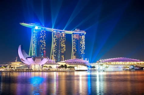 marina bay sands named  instagrammed hotel