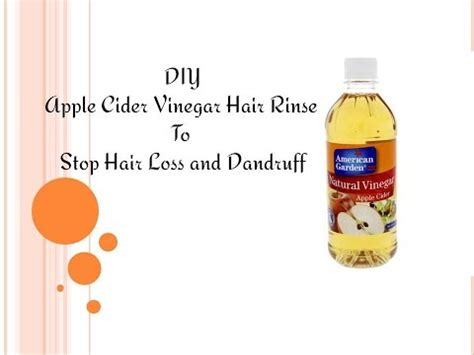 does apple cider vinegar block dht stop hair loss diy apple cider vinegar hair rinse to stop hair loss and