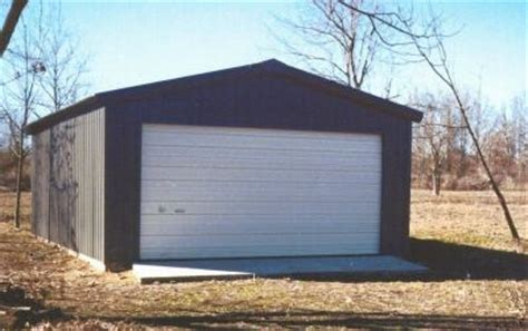 20 X 25 Garage Kits by 20 X 24 X 10 Steel Frame Shed Garage Building Kit