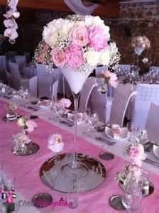 d 233 coration vase martini boule de plumes d 233 co mariage