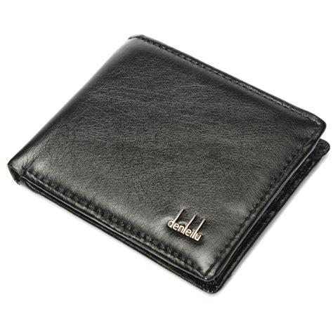 Card Wallet Black Card Holder Dompet Kartu Kulit Asli Goyard 1 lembut hitam pemegang kartu kredit dompet kulit lipat saku