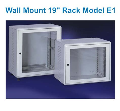 Wall Mount 19 Rack by Ace Enclosures Products It Solutions E1 Wall Mount 19
