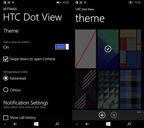 live themes dot view htc adds new functionalities to the dot view case for one