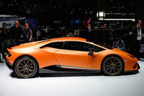 Lamborghini Show Lamborghini Huracan Performante Geneva Auto Show Autotrader