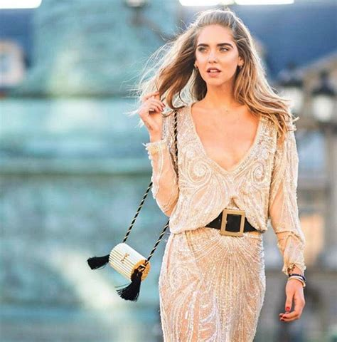 Paris Home Decor Accessories Street Style Chiara Ferragni In Roberto Cavalli In Paris