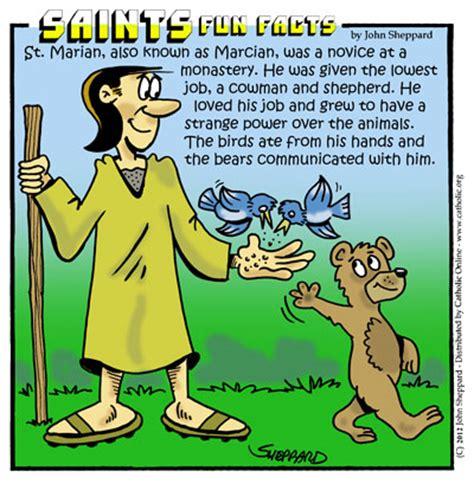 St Silly saints facts st marian saints catholic