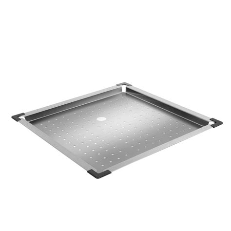 Kitchen Sink Tray Square Stainless Steel Kitchen Sink Colander Insert Strainer Drainer Tray Ebay
