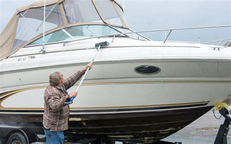 on a boat clean spring cleaning your boat superclean