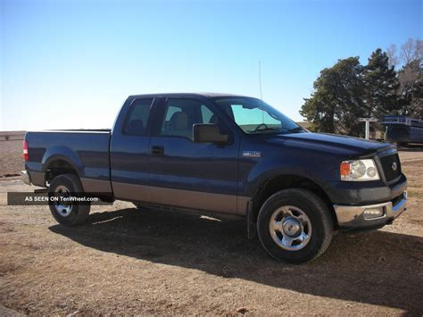 2004 ford f 150 xlt extended cab 4 door 5 4l